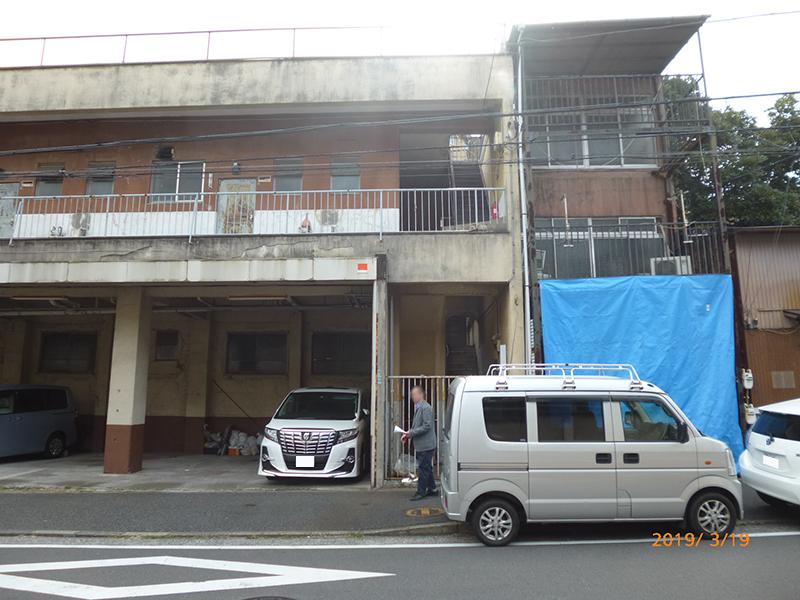 B建物前2